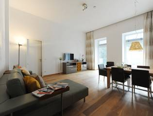 Serviced Business Apartment, edel ausgestattet mit Terrasse - Stumpergasse -