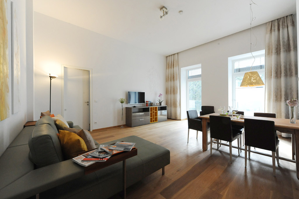 Serviced Business Apartment, elegantly appointed & up-to-date furnished with terrace - Stumpergasse